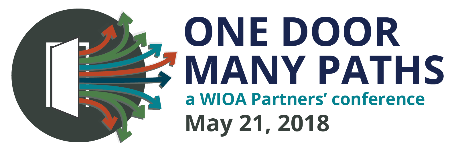 One Door Many Paths (a WIOA partners' conference) May 21, 2018